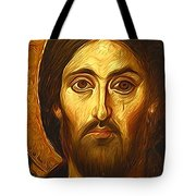 Jesus Christ Religious Art Tote Bag