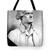 Thomas Jefferson (1743-1826) Tote Bag by Granger
