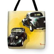 '38 Plymouth Tote Bag
