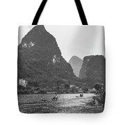 Yulong River Scenery Tote Bag