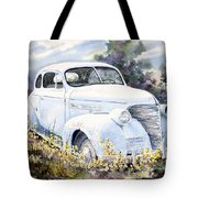 39 Chevy Tote Bag