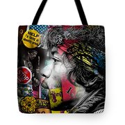 Jimi Hendrix Collection Tote Bag