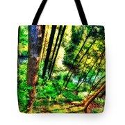 Landscape Image Tote Bag
