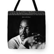 39- Martin Luther King Jr. Tote Bag by Joseph Keane