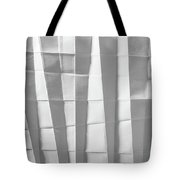 White Folded Paper Tote Bag