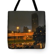 3am Lightning Storm Tote Bag