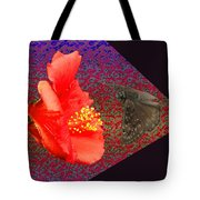3d Butterfly Tote Bag