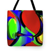 3d-curiosity Of Science Tote Bag