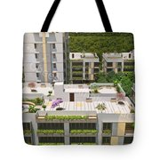 3d Flythrough Studio In Usa Tote Bag