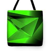 3d-greenpyramids Tote Bag