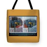 3 Dimensional Painting Tote Bag