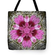 3d Pink Purple Mandala Painting Tote Bag