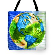 3d Render Of Planet Earth 11 Tote Bag
