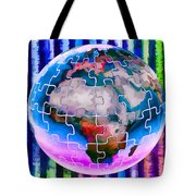 3d Render Of Planet Earth 12 Tote Bag