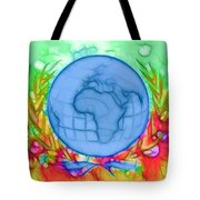 3d Render Of Planet Earth 17 Tote Bag
