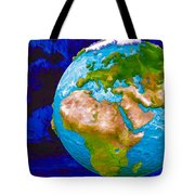 3d Render Of Planet Earth 6 Tote Bag