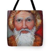 3d Santa Tote Bag