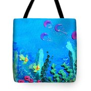 3d Under The Sea Tote Bag by Ruth Collis