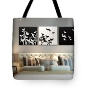3d Wall Decor Painting Y1921a Tote Bag