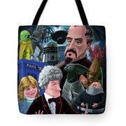 3rd Dr Who And Friends Tote Bag