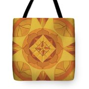 3rd Mandala - Solar Plexus Chakra Tote Bag