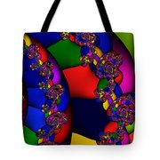 3x1 Abstract 909 Tote Bag