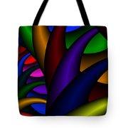3x1 Abstract 915 Tote Bag