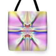 3x1 Abstract 917 Tote Bag