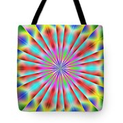 3x1 Abstract 918 Tote Bag