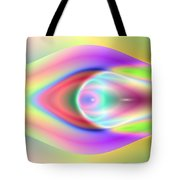 3x1 Abstract 921 Tote Bag