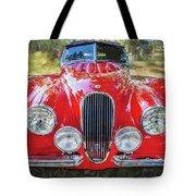 1954 Jaguar Xk 120 Se Ots  Tote Bag
