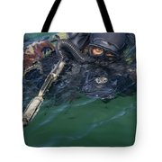 A Navy Seal Combat Swimmer Tote Bag