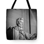 Abraham Lincoln Memorial In Washington Dc Usa Tote Bag