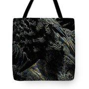Abstract Fractal Landscape Tote Bag