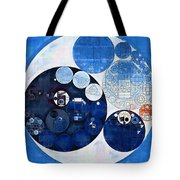 Abstract Painting - Midnight Express Tote Bag