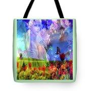 Angel In A Field Tote Bag