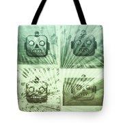 4 Angry Robots Tote Bag