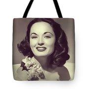 Ann Blyth, Vintage Actress Tote Bag