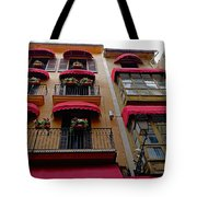 Artistic Architecture In Palma Majorca, Spain Tote Bag