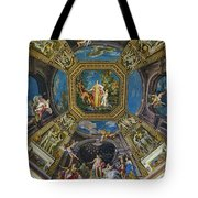 Artistic Ceilings Within The Vatican Museums In The Vatican City Tote Bag