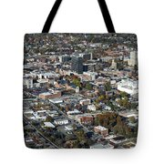 Asheville Aerial Photo Tote Bag