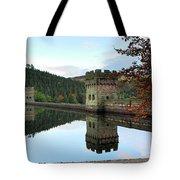Autumn Derwent Reservoir Derbyshire Peak District Tote Bag