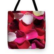 Back Lit Flower Petals 1 Tote Bag