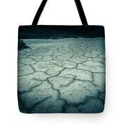 Badwater Basin Death Valley Salt Formations Tote Bag