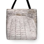 Ball Court At The Coba Ruins  Tote Bag