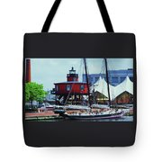 4 Baltimore Icons In One Shot Tote Bag