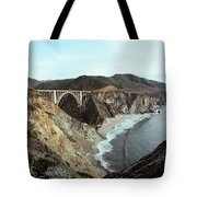 Bixby Creek Bridge Big Sur Photo By Pat Hathaway Tote Bag