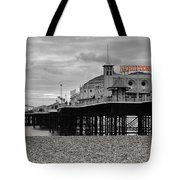 Brighton Pier Tote Bag