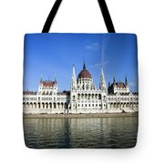 Budapest, Parliament Building  Tote Bag