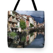 Canals Of Annecy Tote Bag